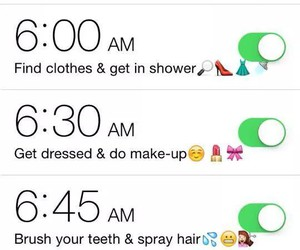 alarm, dress up, and funny image