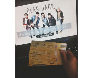 band, concert, and ticket image