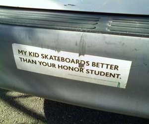 car, kids, and skateboard image