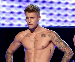 justin bieber, sexy, and Calvin Klein image