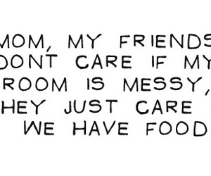 friends, food, and mom image