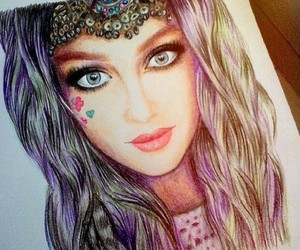 perrie, little mix, and drawing image