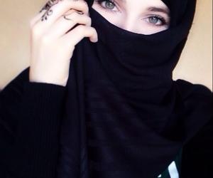 hijab, noxchi, and muslima image