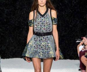 black, New York Fashion Week, and Vera Wang image