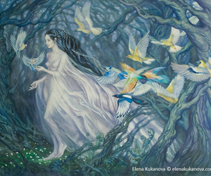 silmarillion, art, and luthien image