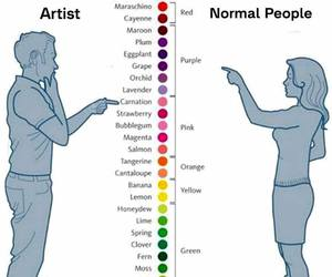 artist, art, and colors image