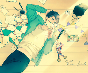 anime, free!, and sousuke image