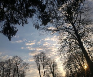 sky, land, and nature image