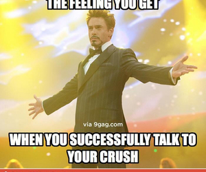 crush, funny, and talk image