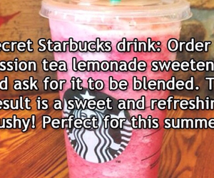 drink, life hack, and starbucks image