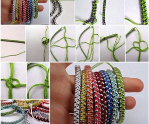 diy, bracelet, and crafts image