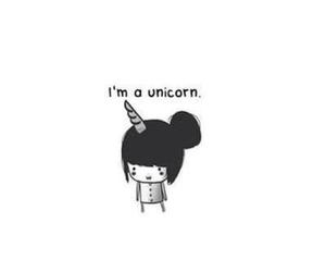 unicorn and quote image