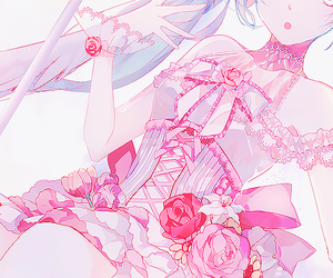 pink, anime, and vocaloid image