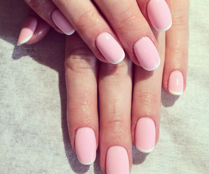 french, manicure, and nail image