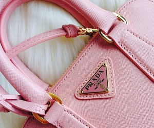 Prada, pink, and fashion image
