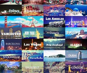 travel, world, and city image
