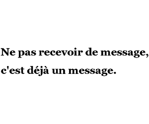 francais, french, and message image