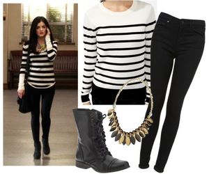 boots, necklace, and outfit image