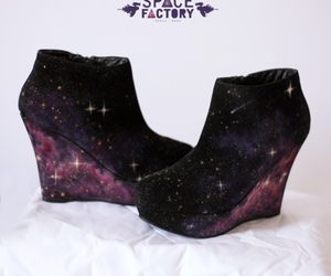shoes, wedges, and black image