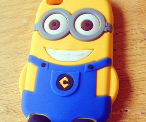 girly, minion, and phone case image