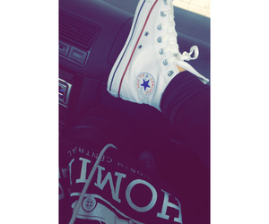 car, converse, and homies image