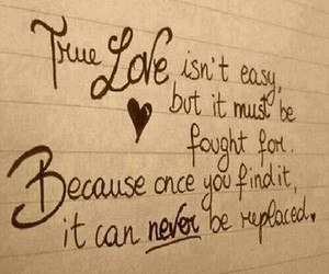 love, quote, and true image