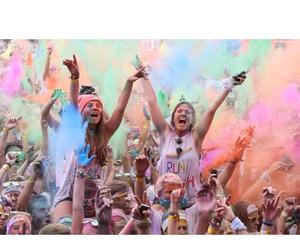 colour, fun, and girl image