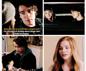 happy, song, and if i stay image