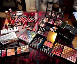 makeup, make up, and sephora image