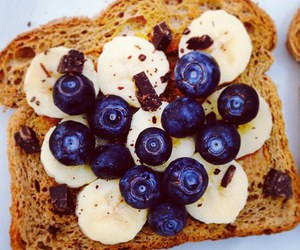 food, healthy, and blueberry image