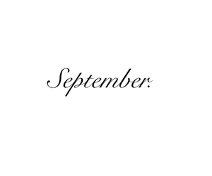 September, autumn, and month image