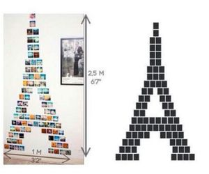 diy, eiffel tower, and picture image