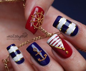anchor, nautical, and style image