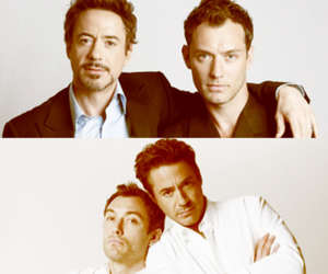actor, jude law, and robert downey jr image