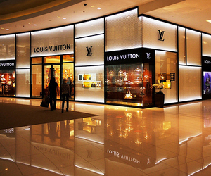 Louis Vuitton, LV, and store image