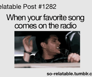 funny, radio, and song image