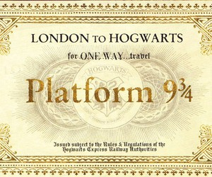 harry potter, hogwarts, and london image