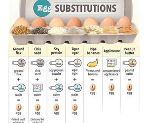 vegan, baking, and egg image