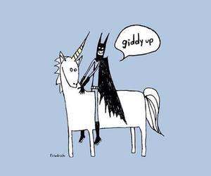 batman and unicorn image