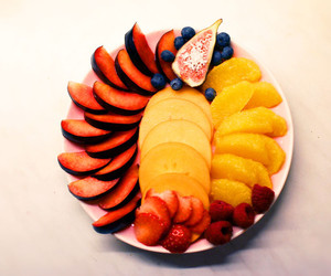 colorful, love, and food image