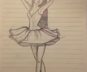 ballerina, dance, and my creation image