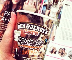 ice cream, ben&jerrys, and b&j image