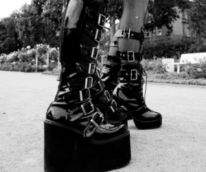 boots and gothic image