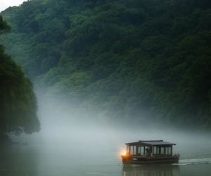 nature and boat image