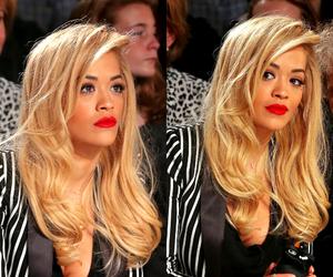 rita ora, fashion, and blonde image