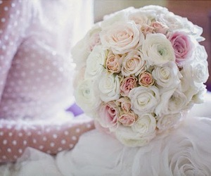 bouquet, wedding, and beautiful image