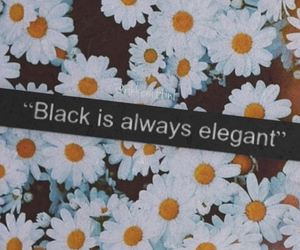 alone, always, and black image