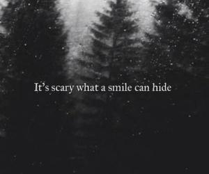 black, fake smile, and hide image