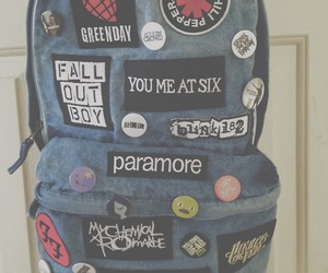 paramore, band, and bag image
