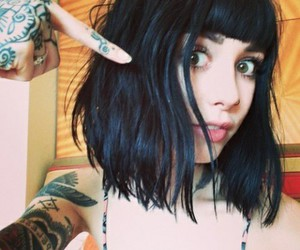 tattoo, hannah snowdon, and hair image